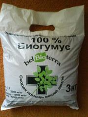 продается удобрение биогумус.